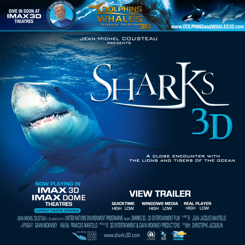 SHARKS 3D IS RECOMMENDED FOR GENERAL AUDIENCES.